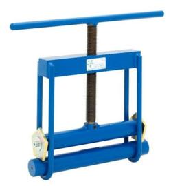 Mechanisch knelapparaat 63-125 mm economy (blauw)