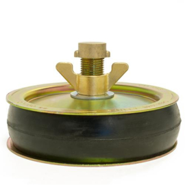 "Afsluitstop ENKELE ring 6"" (146-163 mm)"