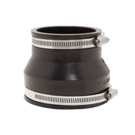 Fernco verloop koppeling  114-98/87-75 mm