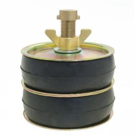 "Afsluitstop DUBBELE ring 5"" (121-138 mm)"