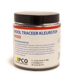 Riool Traceerkleurstof 200 gram  Rood