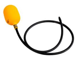 Eesiseel DN100 92-145 mm met vaste slang
