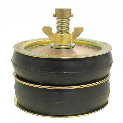 "Afsluitstop DUBBELE ring 6"" (146-163 mm)"