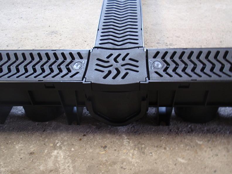lijngoot lijnafwatering drain tuingoot afwatering stalgoot wasplaats
