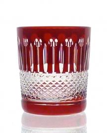 Whiskyglas CHRISTINE ruby