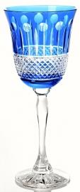 Goblet CHRISTINE turquoise-blue