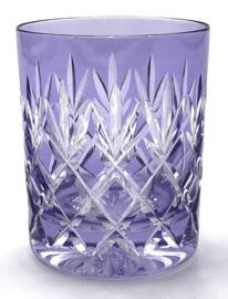 Waterglas/ whiskyglas EWA - light violet