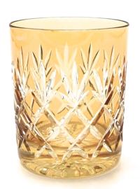 Waterglas/ whiskyglas EWA - light amber