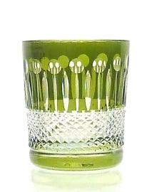 Whiskyglas CHRISTINE olive-green