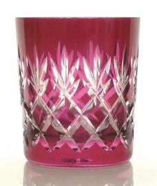 Waterglas/ whiskyglas EWA - raspberry
