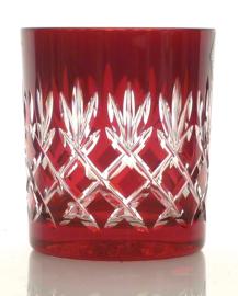 Waterglas/ whiskyglas EWA - ruby