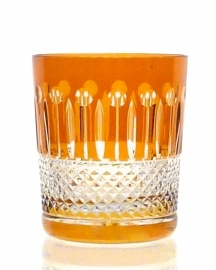 Whiskyglas CHRISTINE amber