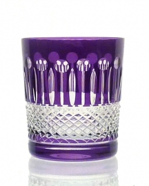 Whiskyglas CHRISTINE violet