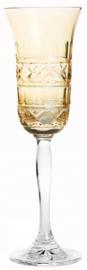 Champagneglas  PASTEL JULIA light yellow - cross