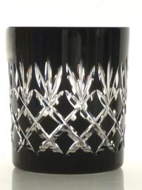 Waterglas/ whiskyglas EWA - black