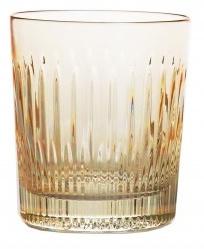 Whiskyglas PASTEL JULIA -  light yellow  -  line