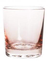 Whiskyglas PASTEL JULIA -  powder  pink  -  clear