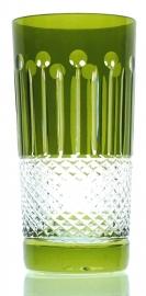 Drinkglas CHRISTINE olive-green