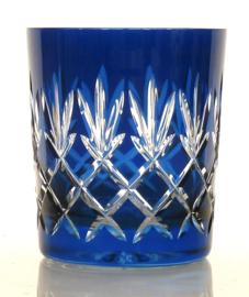 Waterglas/ whiskyglas EWA - royal blue