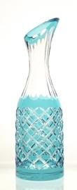 Decanter LUXORIA light turquoise  /  sea blue