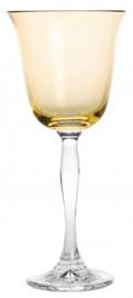 wijnglas PASTEL JULIA - light yellow - clear