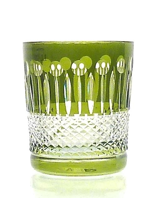 Whiskyglas CHRISTIE olive-green