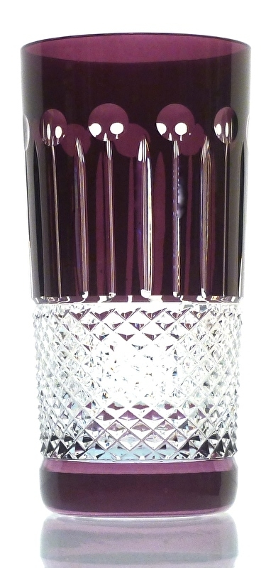 Drinkglas CHRISTINE aubergine