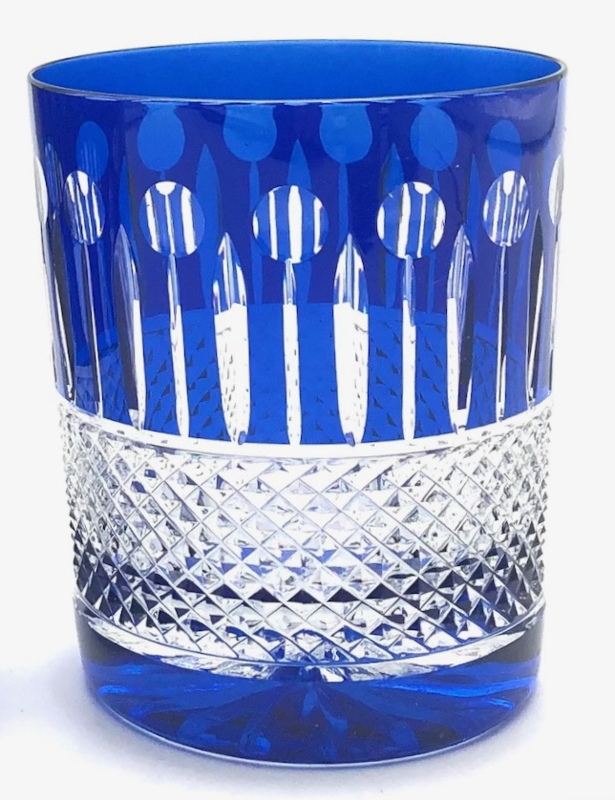 Whiskyglas CHRISTIE light-blue