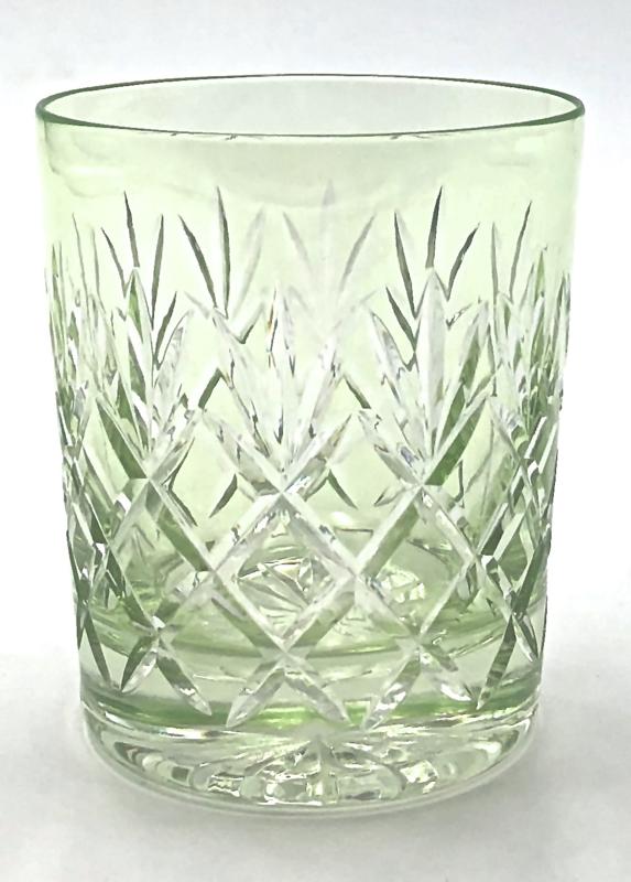 Waterglas/ whiskyglas EWA - chartreuse