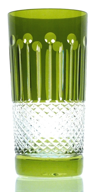 Drinkglas CHRISTINE olive-green