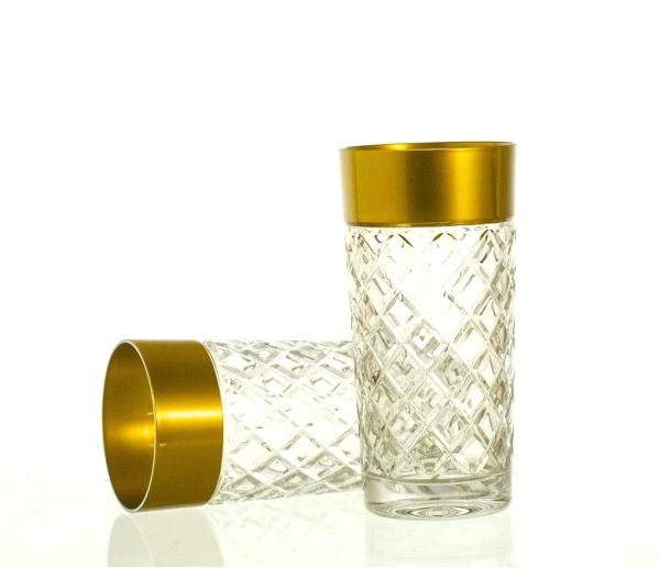 Waterglas GOLDEN LINE  - set van 2 glazen