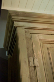 Old farmhouse cabinet large