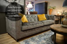 Sofa Pallmore met capitons