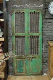 Decoratieve Green Deur 173 x 77 cm