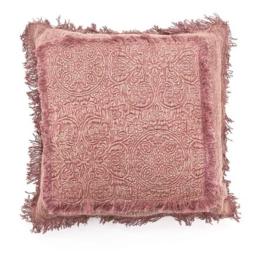 Kussen ByBoo Floret 45x45cm Pink