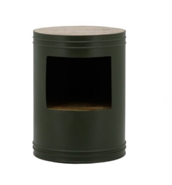 Tafel ByBoo Sidetable Barrel - Green