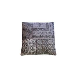 Kussen Patchwork 50x50 cm Grey