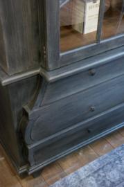 Cabinet Old Farmhouse glasdeuren
