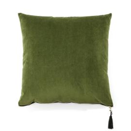 Kussen Stuart 45x45 cm Groen & Geel