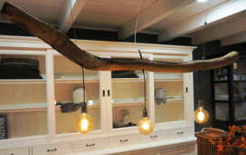 Hanglamp Ruben Hout 3 Fittingen