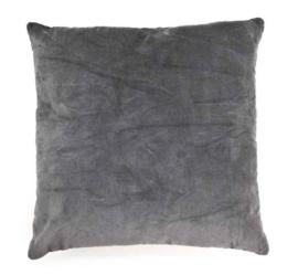 Kussen ByBoo 60x60cm Dark Anthracite