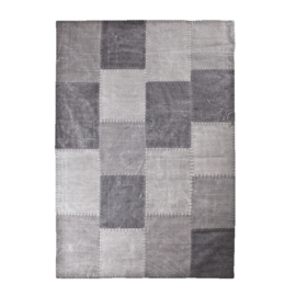 Carpet Patchwork Mono 200x290 cm - anthracite