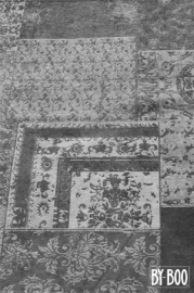 By-Boo Carpet Patchwork - grey 170x240 cm