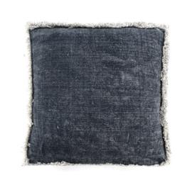 Kussen ByBoo Mono 60x60cm Blue