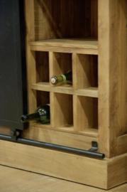 Industriële wijnkast BAS
