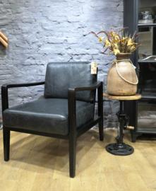 Showmodel fauteuil Olaf Leer