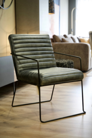 Fauteuil Wolky leer