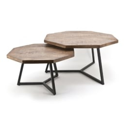 Tafel ByBoo Coffeetable Set Octagon 1637 26900