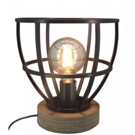 Lucca Tafellamp Zwart