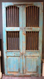 Decoratieve Yellow Aqua deur India